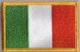 Ireland Embroidered Flag Patch, style 08.